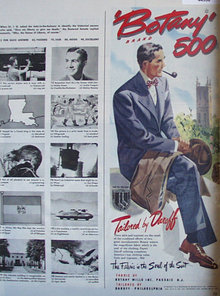 Botany 500 Brand Suits 1948 Ad
