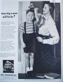 The Prudential Insurance Co. 1948 Ad