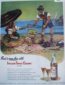 Italian Swiss Colony Wine 1948 Ad.