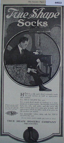 True Shape Socks 1920 Ad.