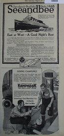 Kampkook Camp Stove 1920 Ad.