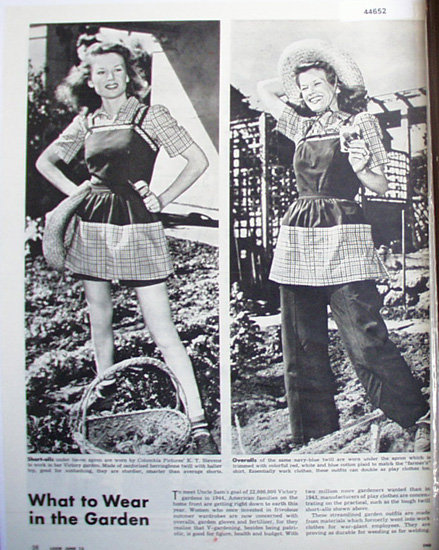 Victory Gardens 1944 Article