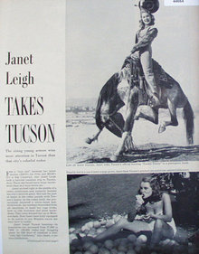 Janet Leigh 1950 Article