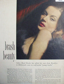 Brash Beauty Hazel Brooks 1948 Article