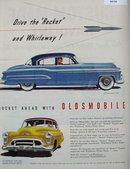 Oldsmobile 98 1950 Ad.