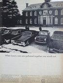 Volkswagen Fastback Car1969 Ad.
