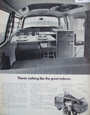 Volkswagen Campmobile 1972 Ad.