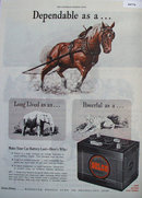 Delco Remy Battery 1945 Ad.