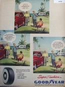 Good Year Super Cushion Tires 1950 Ad.