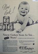 Gerbers Baby Food 1948 Ad
