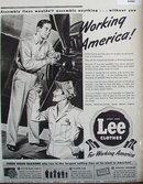 Lee Clothes 1943 Ad.