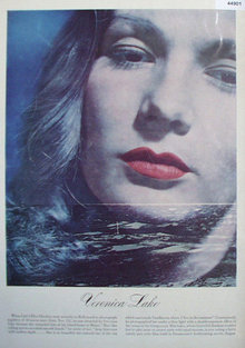 Veronica Lake Movie Star 1947 Article