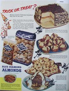 Blue Diamond Almonds 1947 Ad