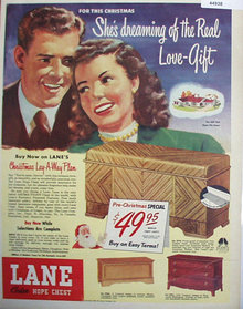 Lane Cedar Hope Chest 1948 Ad