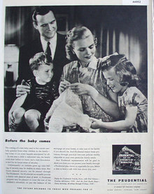The Prudential Insurance Co. Of America 1947 Ad.