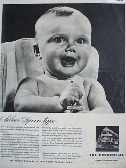 The Prudential Insurance Co. Of America 1948 Ad