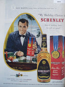 Schenley Blended Whiskey 1949 Ad