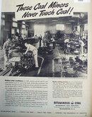 Bituminous Coal Institute 1949 Ad