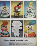 Mother Goose Greeting Cards 1948 Ad