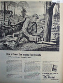 International Nickel Co. 1949 Ad