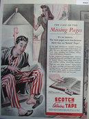 Scotch brand Cellulose Tape 1944 Ad