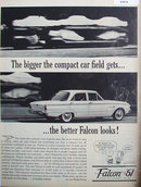 61 Ford Falcon 1960 Ad