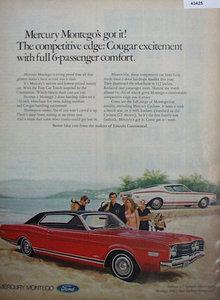 Mercury Montego 1967 Ad