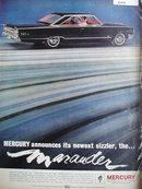 Mercury Marauder 1963 Ad