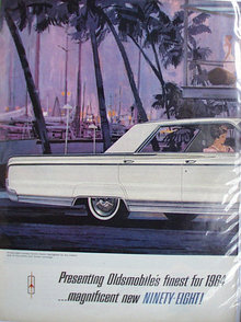 Oldsmobile Ninety Eight 1963 Ad