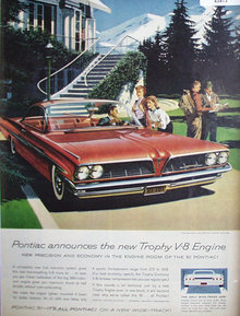 Pontiac Bonneville Sports Coupe 1960 Ad