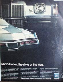 Pontiac Grand Prix 1971 Ad