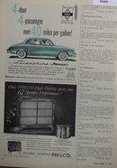 Renault La Dauphine Car 1958 Ad.