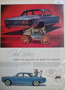 Corvair Body By Fisher 1960 Ad
