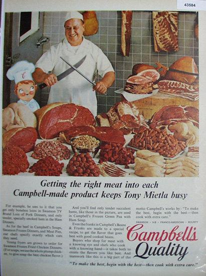 Campbells Quality 1967 Ad