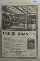 Berry Brothers Liquid Granite Varnish 1907 To 1912 Ad