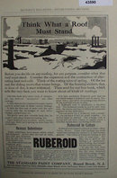 Ruberoid Roofing 1907 To 1912 Ad