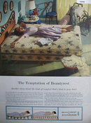 Beauty Rest By Simmons Mattress 1960 Ad