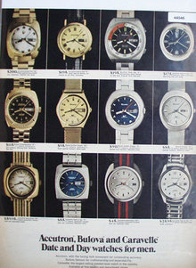 Bulova Accutron And Caravelle 1971 Ad