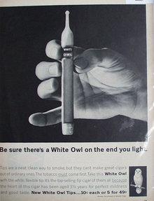 White Owl Cigars 1962 Ad