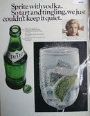 Sprite Soft Drink 1967 Ad