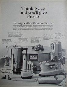 Presto 1967 Ad