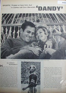 Sports Don Meredith Dandy 1967 Article.