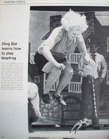 Leapfrog Ding Bat 1972 Article