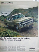 Chevrolet Pickup 1968 Ad.