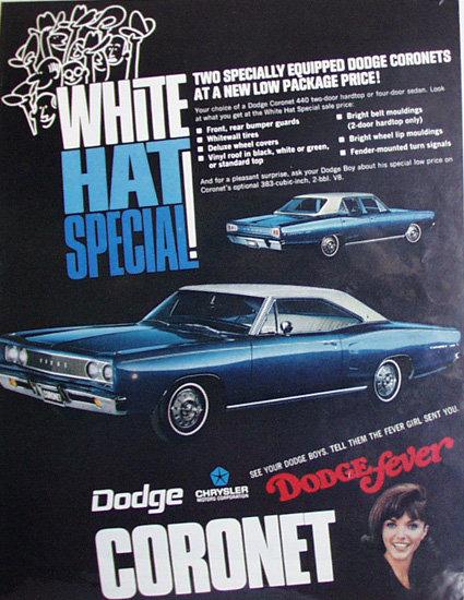 Dodge Coronet 1968 Ad