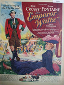 Movie The Emperor Waltz 1948 Ad