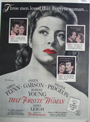 Movie That Forsyte Woman 1949 Ad