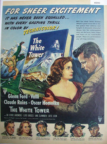 Movie The White Tower 1950 Ad