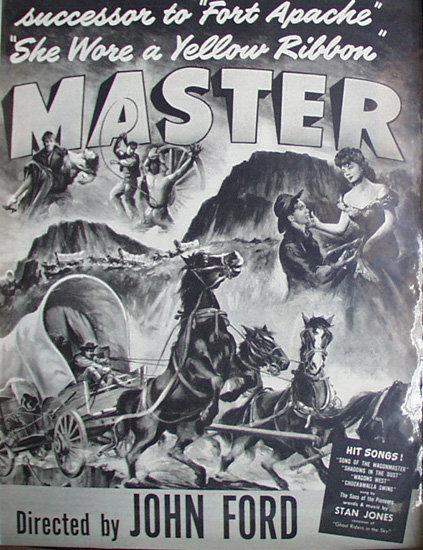 Movie Wagon Masters 1950 Ad