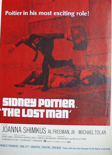 Movie The Lost Man 1969 Ad